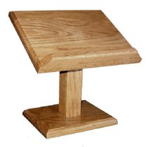 Attrayant Small Table Top Lectern, Cookbook Or Bible Stand