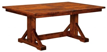 West Point Woodworking Chesapeake Trestle Table