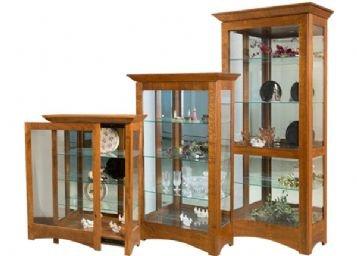 Leda Large Curio Cabinet